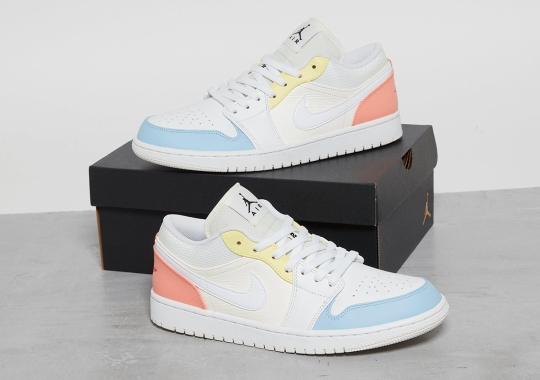 The Air Jordan 1 Low Outfits With Easter-Ready Color Blocking