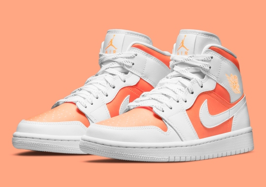 """The Air Jordan 1 Mid Takes On A Spring-Ready """"Bright Citrus"""" Colorway"""