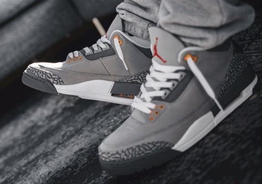"Where To Buy The Air Jordan 3 ""Cool Grey"""