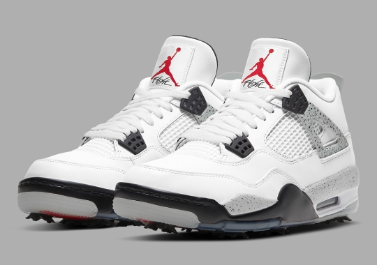 """The Air Jordan 4 Golf """"White Cement"""" Releases On March 4th"""
