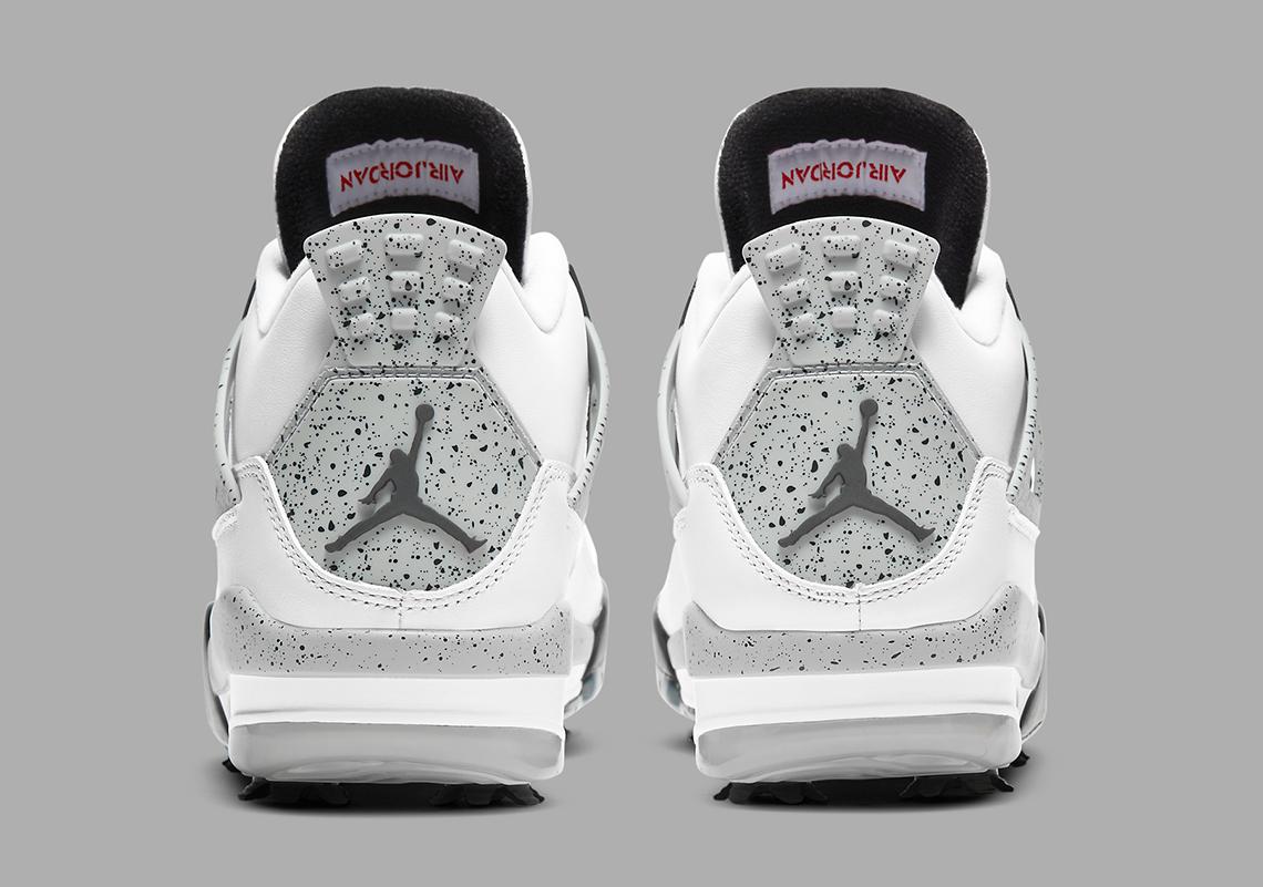 Air Jordan 4 Golf Shoes White Cement CU9981-100   SneakerNews.com