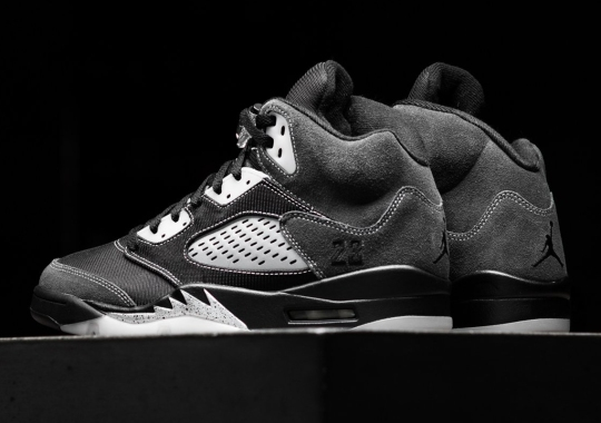 "Where To Buy The Air Jordan 5 ""Anthracite"""