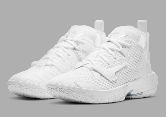 "The Jordan Why Not Zer0.4 Is Coming Soon In ""Triple White"""