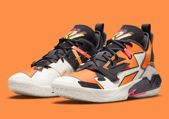"Russell Westbrook Shatters Backboards With This Jordan ""Why Not?"" Zer0.4"