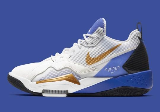 "The Jordan Zoom '92 Borrows The Original Nike Air Max 180's ""Concord"" Colorway"