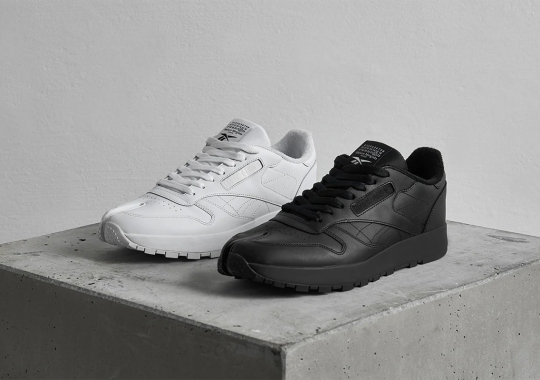 Maison Margiela To Deliver Two Solid-Colored Reebok Classic Leather Tabis