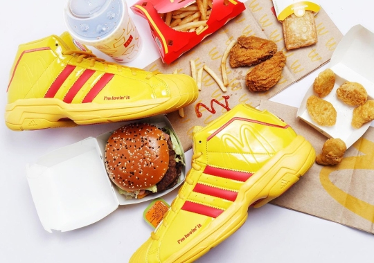 For The McDonald's All-American Game, The adidas Pro Model 2G Goes Classic Golden Arches