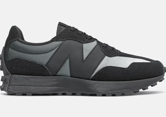 Grey Gradients Appear On This Stealthy New Balance 327