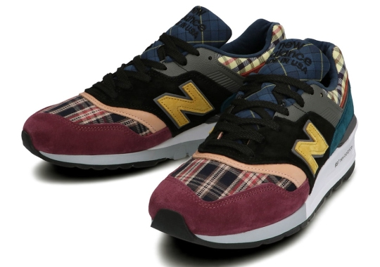 """The New Balance 997 Joins The Well-Suited """"Plaid Pack"""""""