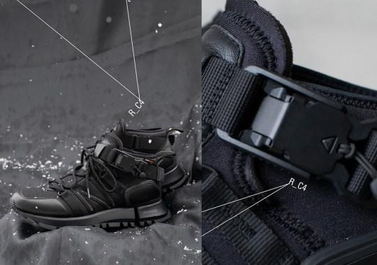 Snow Peak And New Balance Tokyo Design Studio Prepare An All-Black R_C4