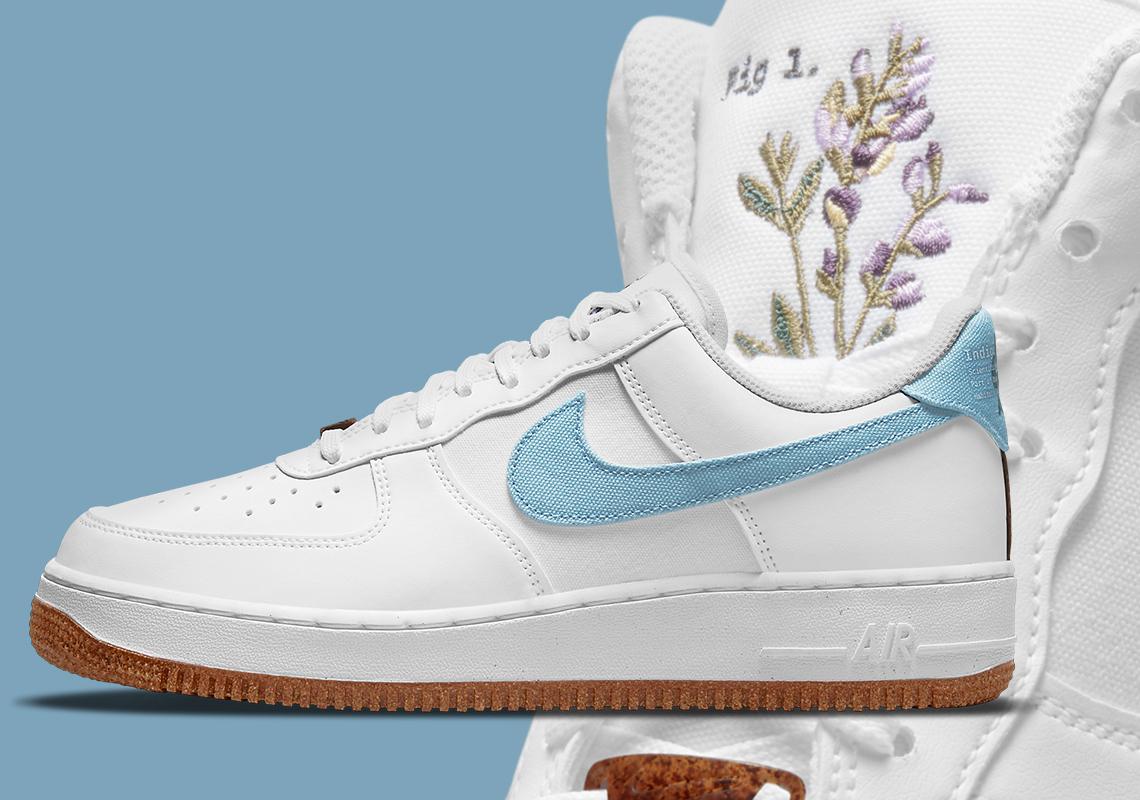 Nike Air Force 1 Indigo CZ0338-100 Release Info | SneakerNews.com