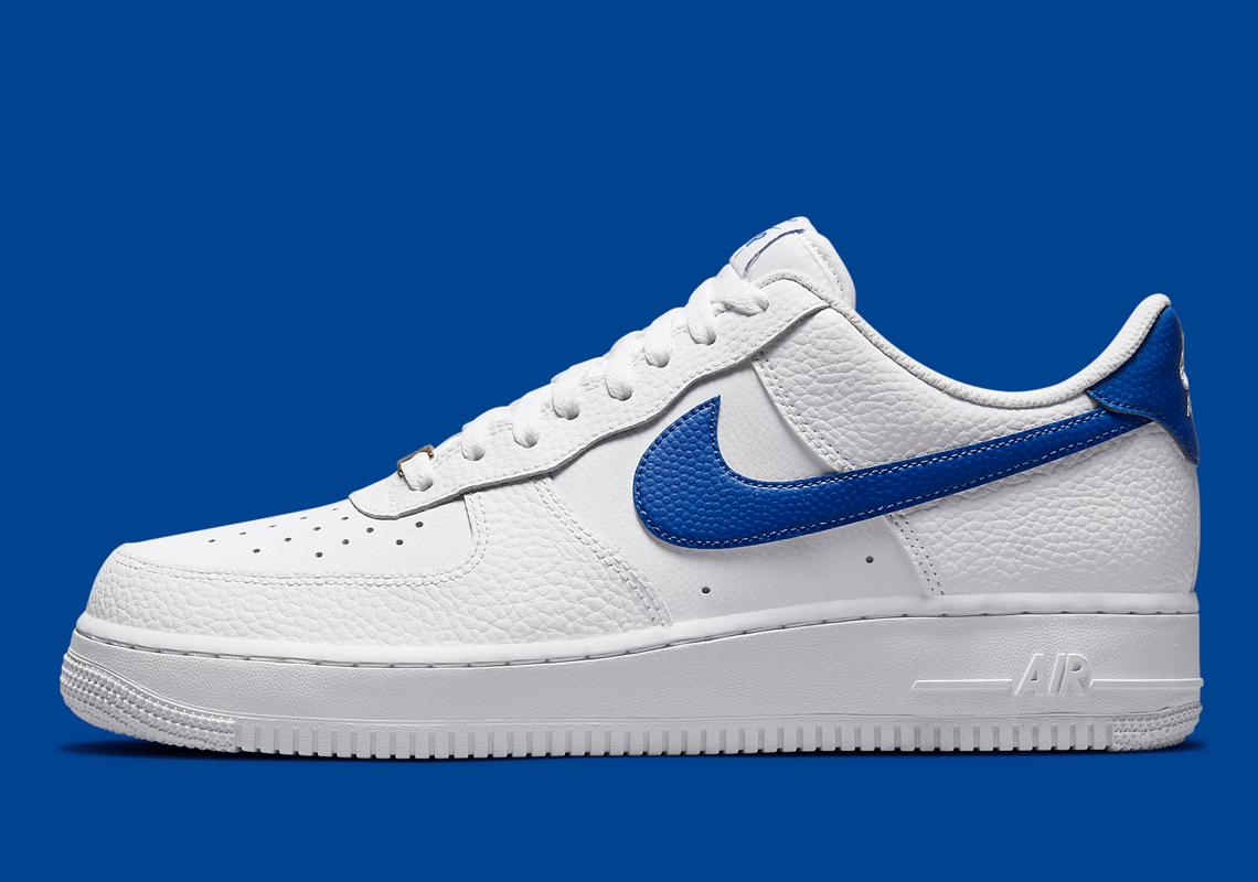 Nike Air Force 1 Low White Royal Blue DM2845-100 | SneakerNews.com