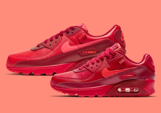 """This Red Air Max 90 For Chicago Rounds Out Nike's """"City Special"""" Pack"""