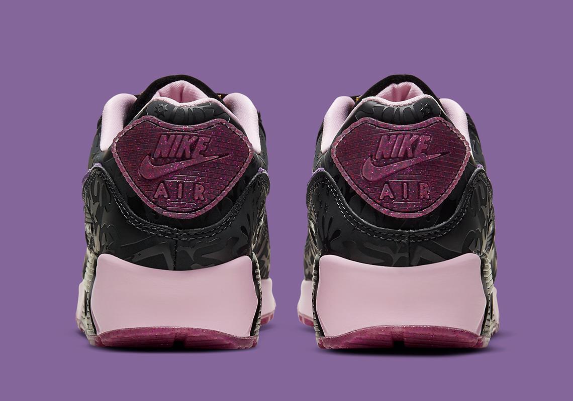 Nike Air Max 90 Noir Arctic Pink Violet DD5517-010   SneakerNews.com