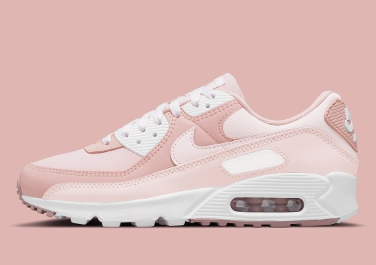 "Nike Air Max 90 Connects ""Barely Rose"" And ""Pink Oxford"" For The Spring"
