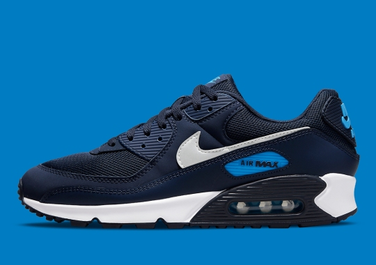Navy Blue Dominates This Upcoming Nike Air Max 90