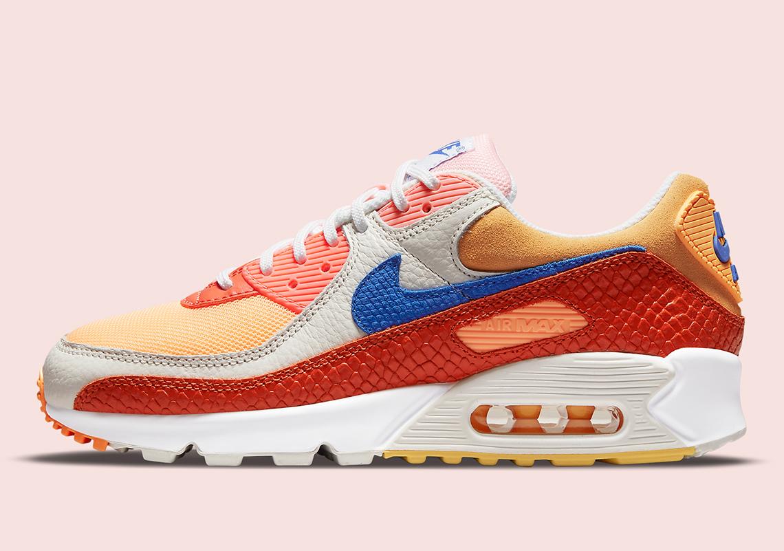 Nike Air Max 90 Snakeskin DJ8517-800 Release Info | SneakerNews.com