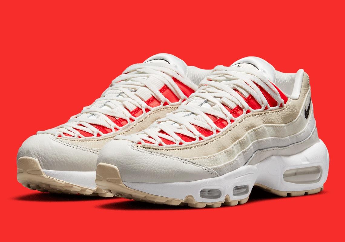 Nike Air Max 95 WMNS Red Coconut DJ6903-100 | SneakerNews.com