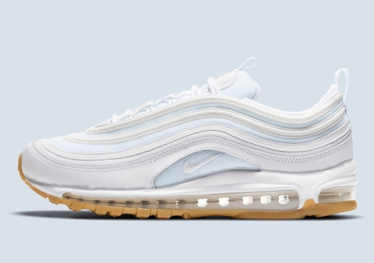 "The Nike Air Max 97 Appears In A Fan-Favorite ""White/Light Gum Brown"" Style"