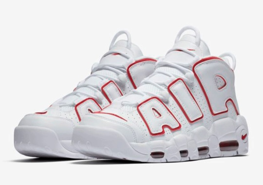 "Nike Air More Uptempo ""Bulls"" Resurfaces As ""Renowned Rhythm"""