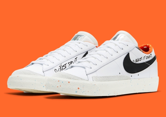 This Hoops-Centric Nike Blazer Low '77 Isn't Shy With Details