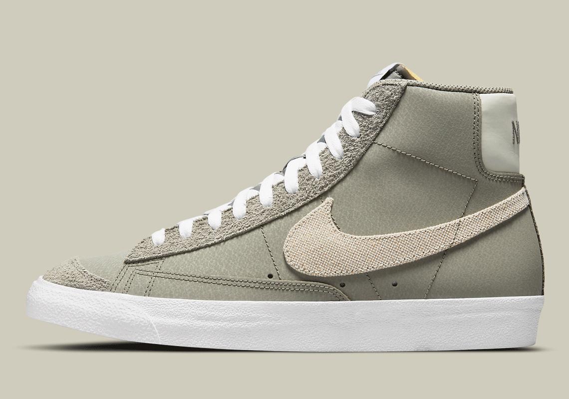 Nike Blazer Mid '77 Khaki DH4106-300 Release Date   SneakerNews.com