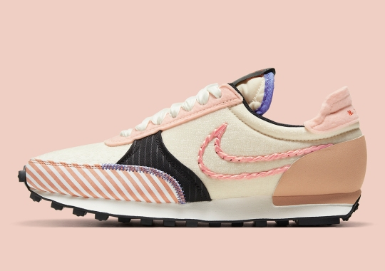 Nike Decorates This Women's Daybreak Type With Braids And Bold Stripes