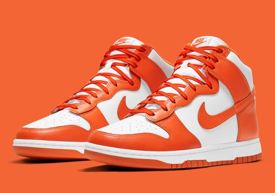 "Official Images Of The Nike Dunk High ""Syracuse"""