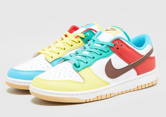 """Best Look Yet At The Nike Dunk Low """"Free 99"""" In White"""