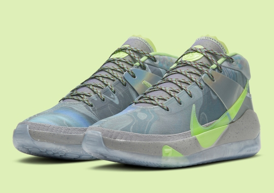 The Nike KD 13 Brings Recycled Padding To All-Star Weekend