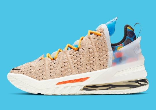"""Nike Continues The LeBronWatch With The LeBron 18 """"Majestic Ferocity"""""""