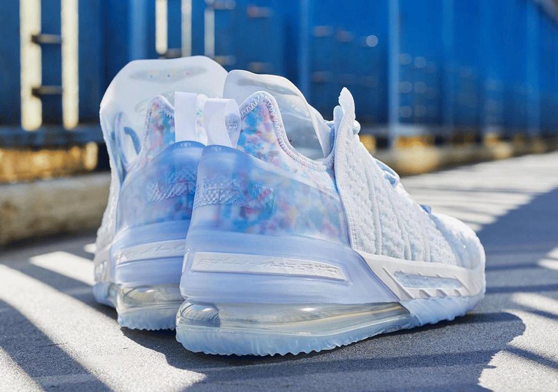 "Nike LeBron 18 ""Blue Tint"""