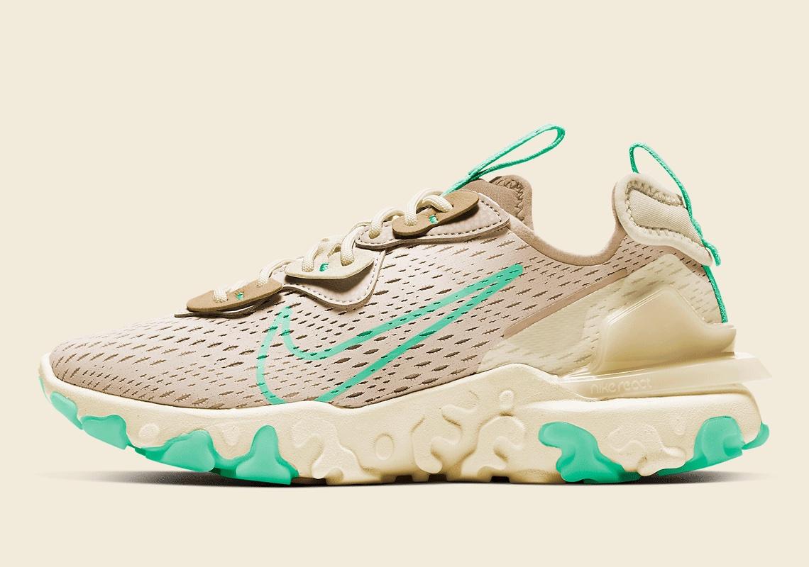 Nike React Vision Cream Green CI7523-201 | SneakerNews.com