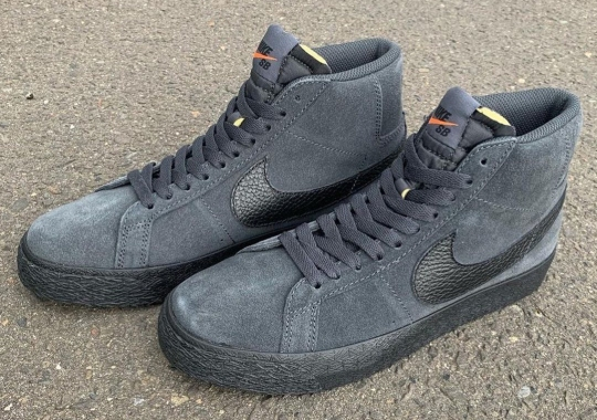 "Nike SB Orange Label To Offer The Blazer Mid ""Dark Smoke"" This March"