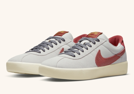 The Nike SB Bruin React Gets Classic Team Red Swooshes