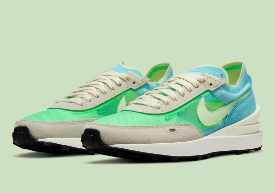 """""""Scream Green"""" Lands On The Nike Waffle One"""