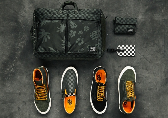 Porter-Yoshida & Co. And Vault By Vans To Drop A Flight Jacket Themed Capsule
