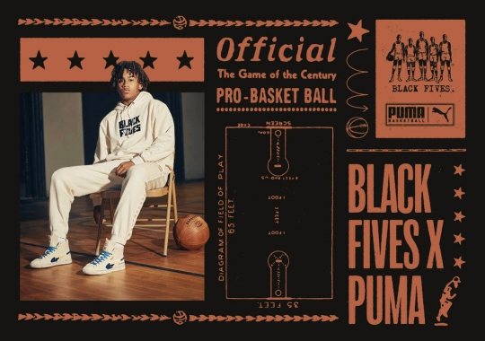 PUMA And The Black Fives Foundation Highlight Pre-NBA African-American History For Black History Month