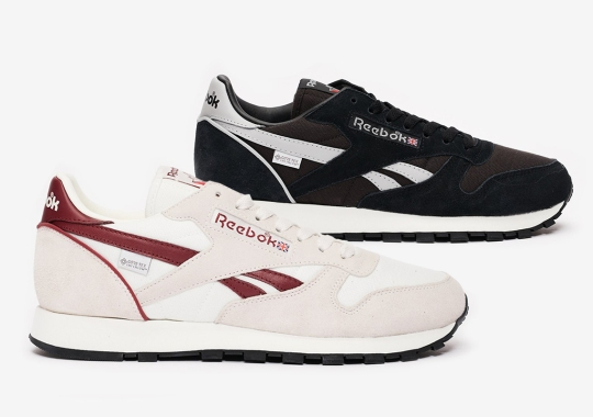 Reebok Protects The Classic Leather With GORE-TEX Infinium