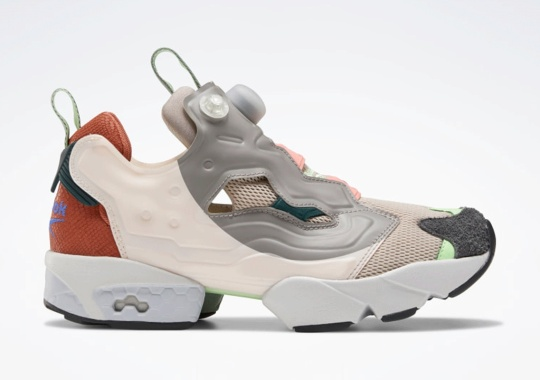 """The Reebok Instapump Fury """"Ceramic Pink"""" Tests Out New Color-blocking For International Women's Day"""