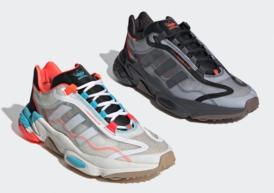 The Modern adidas Ozweego Transforms With Clear Synthetic Uppers