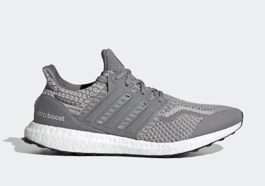 The adidas UltraBOOST 5.0 DNA Stacks Grey On Grey