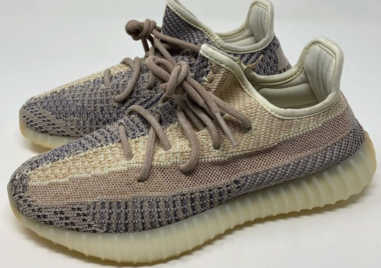 "Up Close With The adidas Yeezy Boost 350 V2 ""Ash Pearl"""
