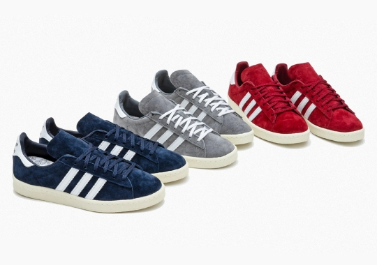 The adidas Campus 80s Returns, Offered Up In Buttery Suedes
