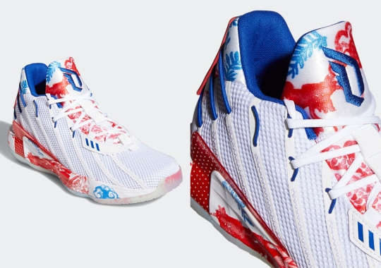"""adidas Covers The Dame 7 """"Gift To The World"""" With Kumo Clouds"""