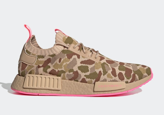 adidas Covers The NMD R1 Primeknit With Duck Camo Prints