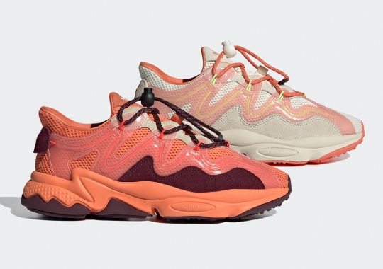 "The Women's adidas Ozweego Plus Is Delivering Two ""Semi Coral"" Combos"