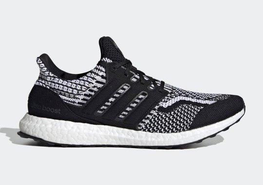 The adidas Ultra Boost 5.0 Gets An Oreo Colorway