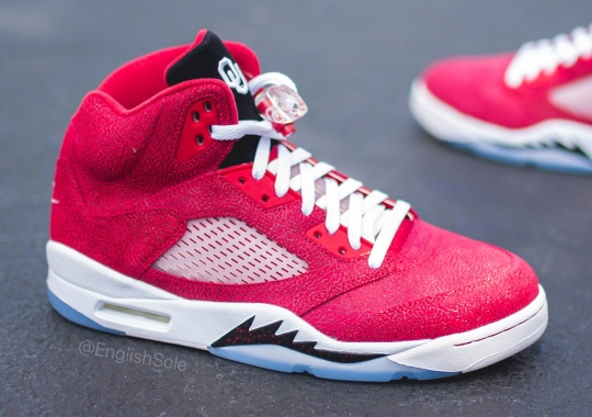"Up Close With The Air Jordan 5 ""Oklahoma Sooners"" PE"
