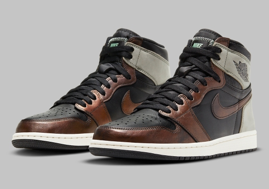 "Official Images Of The Air Jordan 1 Retro High OG ""Patina"""